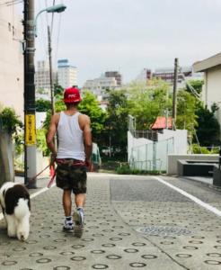 キムタク散歩
