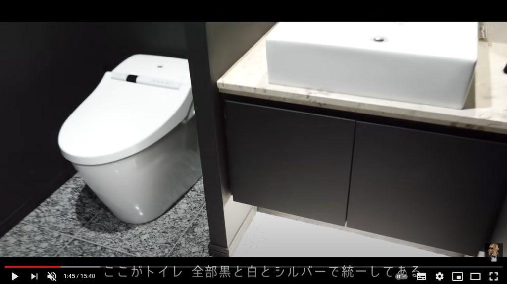 ローランドの自宅トイレ
