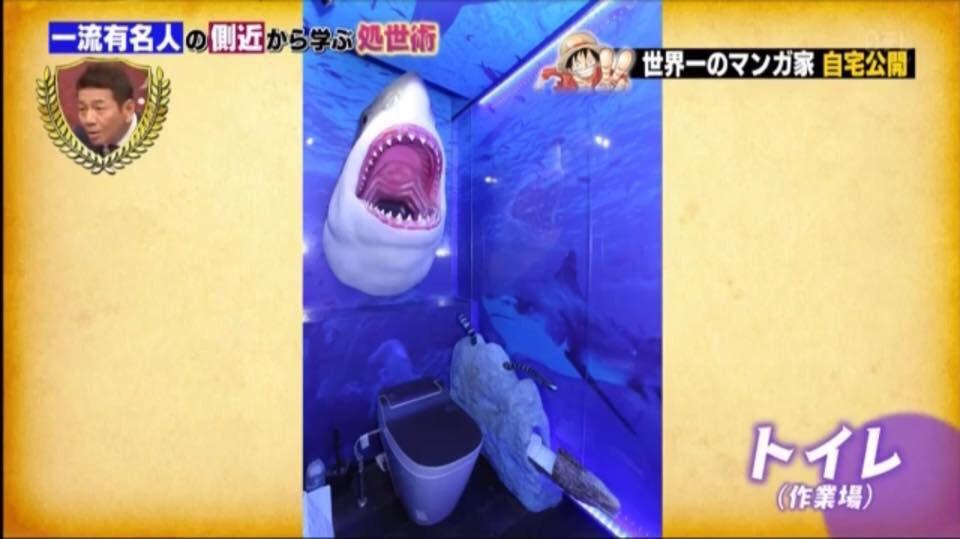 尾田栄一郎自宅写真(サメ)
