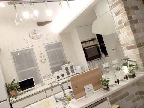 辻希美の自宅キッチン