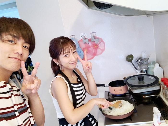 辻希美と杉浦太陽の自宅キッチン