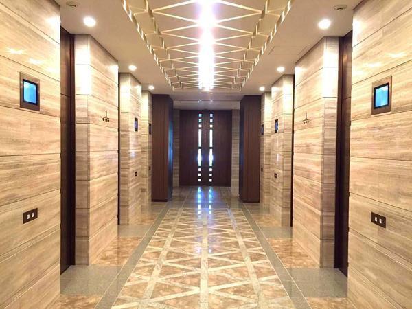 パークシティ大崎ザタワーのエレベーターホール