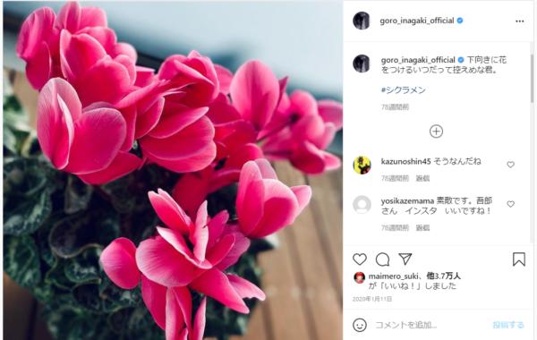 稲垣吾郎のプライベート写真1